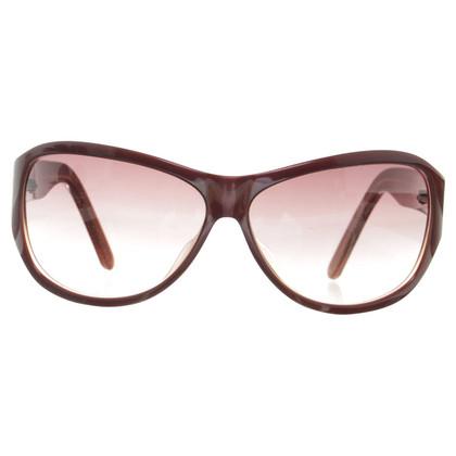 Calvin Klein Braune Sonnenbrille
