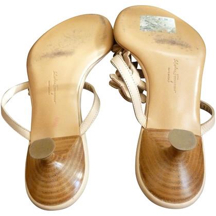 Salvatore Ferragamo Nude sandals