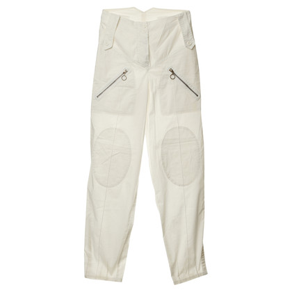 Chloé High-waist pant in white