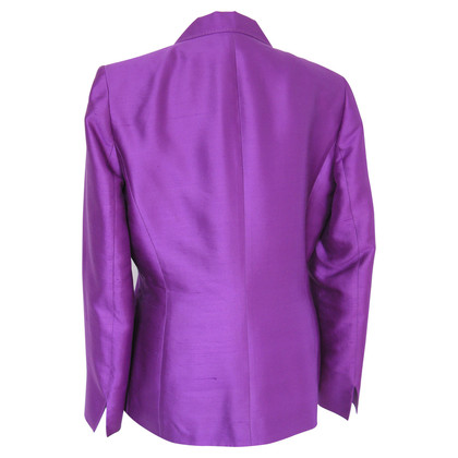 Other Designer Georges Rech France - pants suit magenta silk