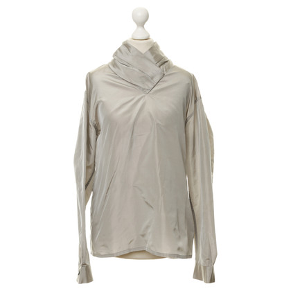Jil Sander Silk blouse with Changeant