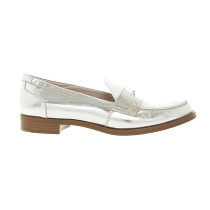 Miu Miu Bi-colored penny loafers