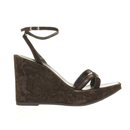 Karen Millen Wedges with textured heels