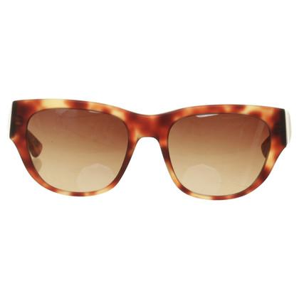 L'Agence Matte Sonnenbrille in Hornoptik