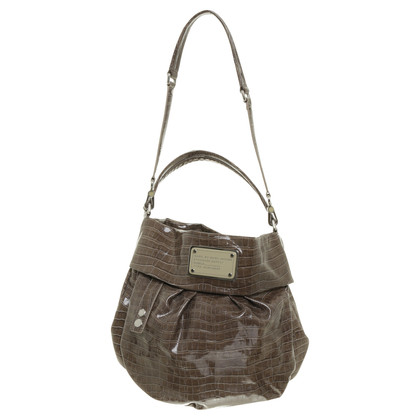Marc Jacobs Reptile-look shoulder bag