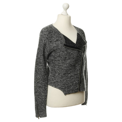 Maje Strickjacke in Grau