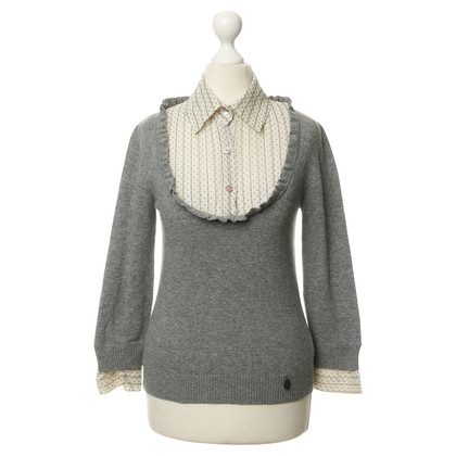 Valentino Sweater with blouse insert