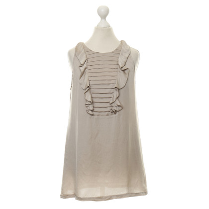 Reiss Silk top in grey