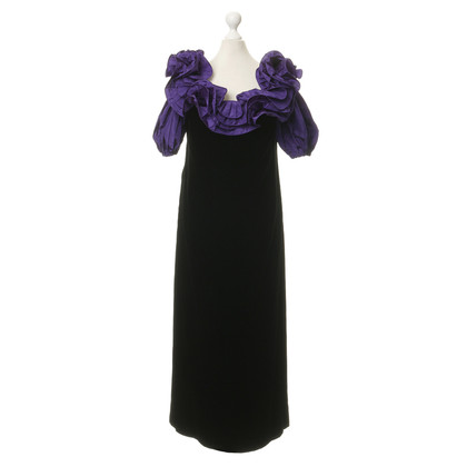 Nina Ricci Velvet dress with lace trim