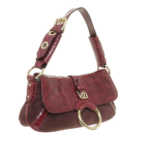 Dolce   Gabbana Reptile leather shoulder bag - Second Hand Dolce ... 0a10a1078c6