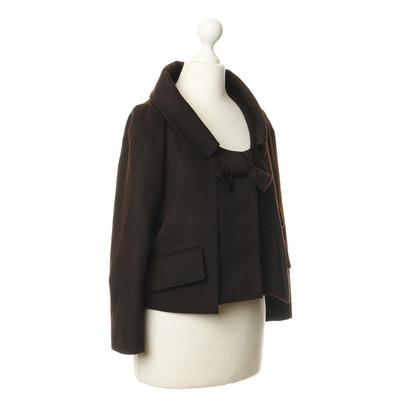 Paule Ka Jacket in dark brown