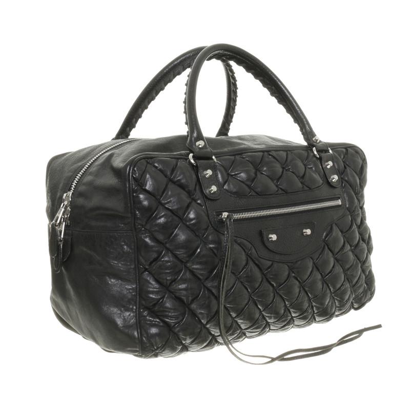 Balenciaga Quilted handbag - Buy Second hand Balenciaga Quilted ... : black quilted handbag - Adamdwight.com