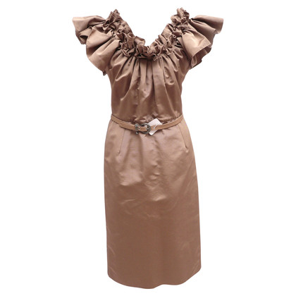 Christian Dior Dress with ruffle
