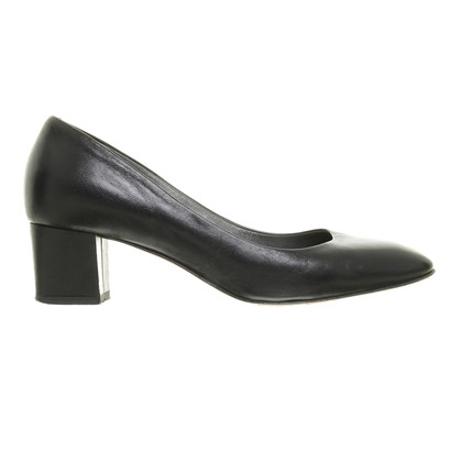 Navyboot pumps in nero