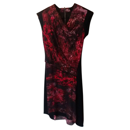 Helmut Lang Midnight Floral Twill Dress