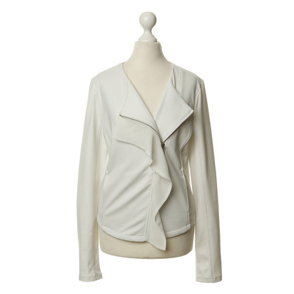 Armani Sweatjacke in Off-White