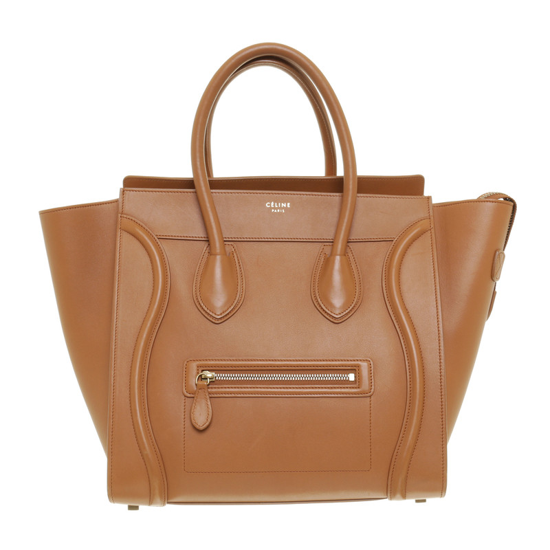 Céline Luggage bag in light brown