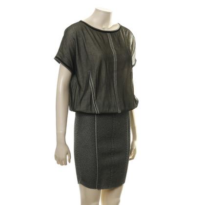 Alberta Ferretti Dress with mesh layer