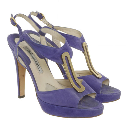 Brian Atwood Sandals suede