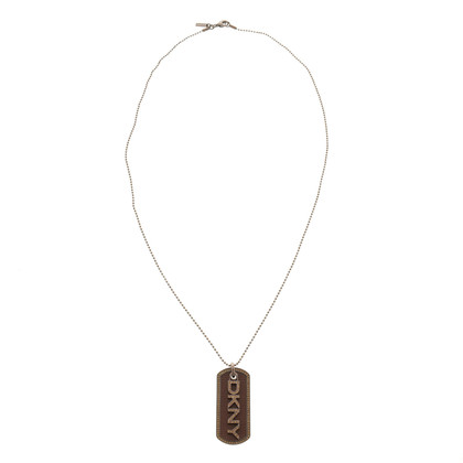 DKNY Necklace with logo-pendant