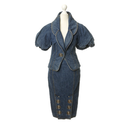 John Galliano Ensemble from denim