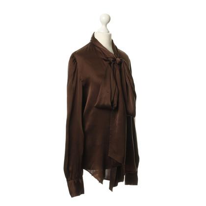 Ralph Lauren Silk blouse with button