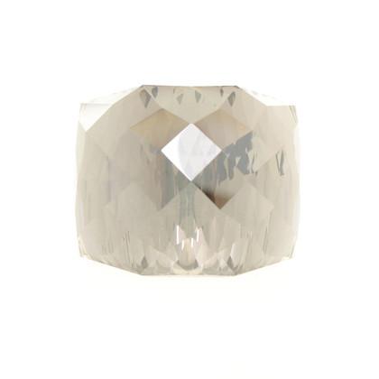 Swarovski Crystal ring in beige