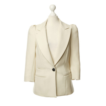 Smythe Blazer in cream