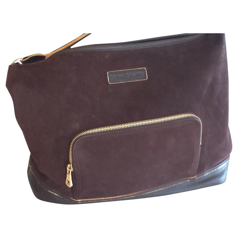longchamp braune wildledertasche second hand longchamp braune wildledertasche gebraucht kaufen. Black Bedroom Furniture Sets. Home Design Ideas