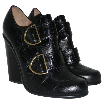 Armani ankle booties