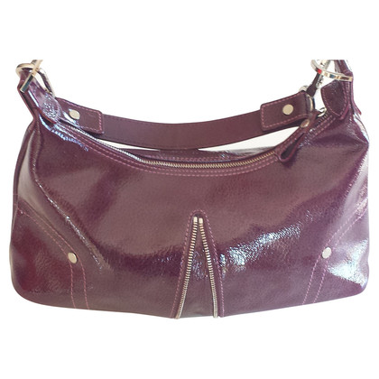 Longchamp Lackledertasche