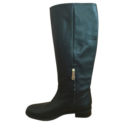 Bally Black riding boots