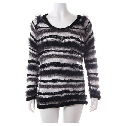 Lala Berlin Transparent stripe sweater