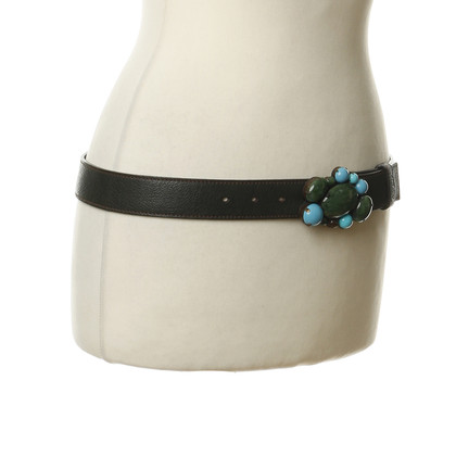Miu Miu Sun jewel-buckle belt