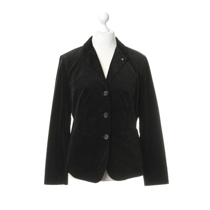 Blonde No8 Velvet Blazer in black