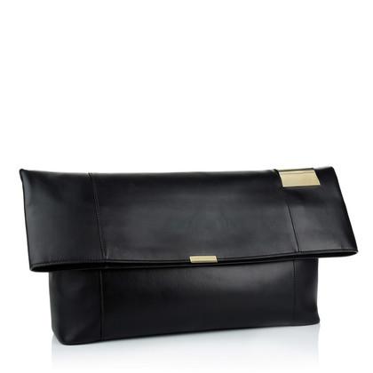 Stella McCartney Falabella fold-over Tote black