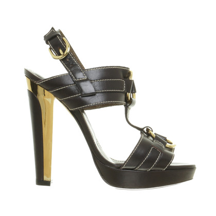 Barbara Bui Sandals with contrast stitching