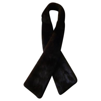 Altre marche Visone sciarpa marrone
