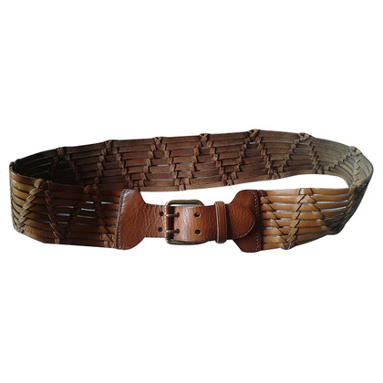 Ralph Lauren riem in Cognac Brown