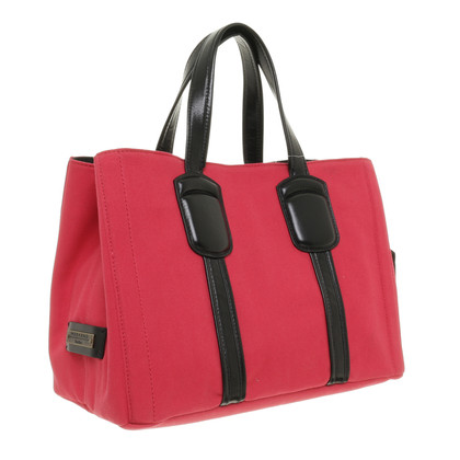 Max Mara Red in doek Tote
