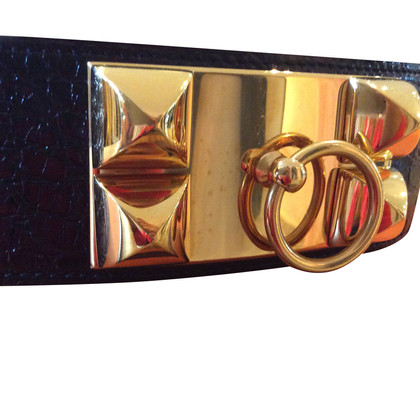 Hermès Gürtel collier de chien