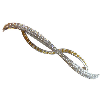 "Swarovski Brooch ""Loop"""