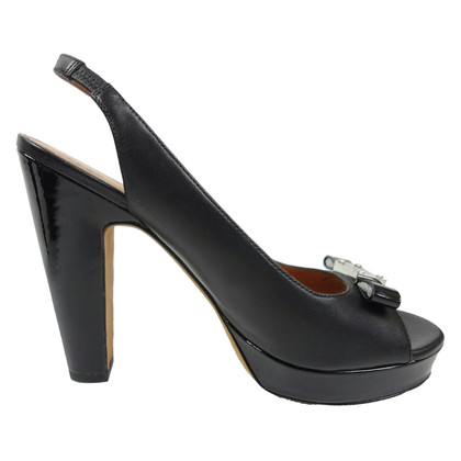 Marc by Marc Jacobs Black slingbacks