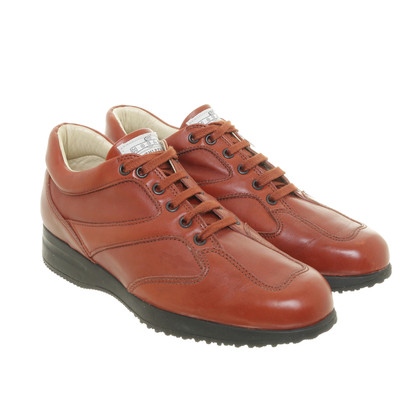 Hogan Lace-up shoes in red