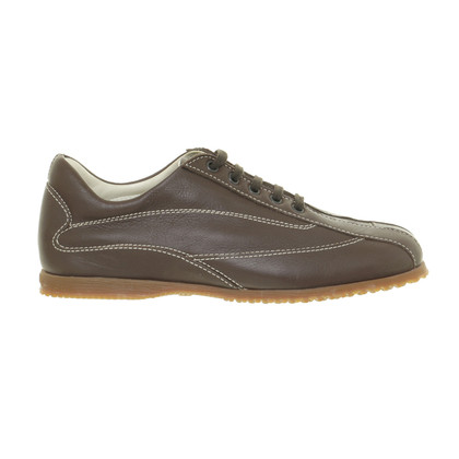 Hogan Lace-up shoes with contrast stitching