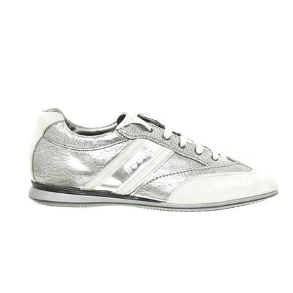 Hogan Sneaker with metallic-look