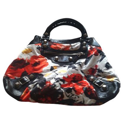 Balenciaga Canvas-Flora-Handtasche