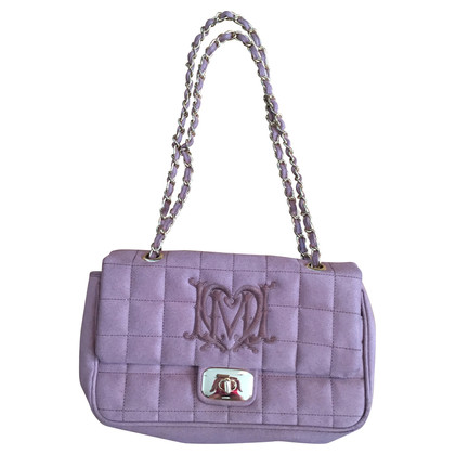 Moschino Quilted bag with chain handle