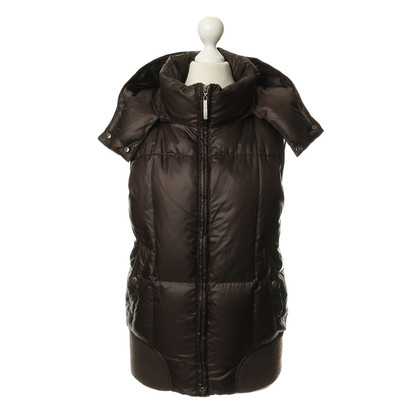 Closed Gewatteerde vest in Brown