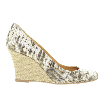 Lanvin Wedges in reptiel afwerking